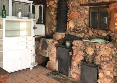 Courtyard ovens