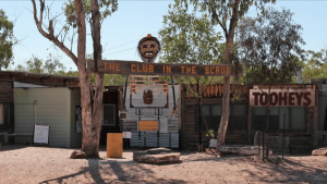The iconic 'Club in the Scrub'