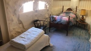 The Cutting Room Bedroom. 2 single beds